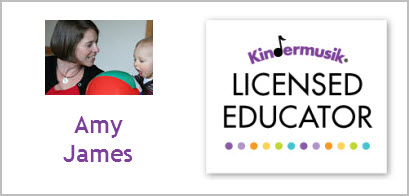 Amy James - Licensed Kindermusik Educator